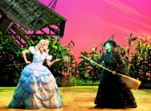Emily Tierney and Nikki Davis-Jones in Wicked.