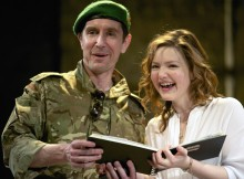 Paul McGann and Holliday Grainger in Three Sisters