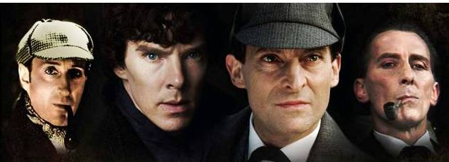 Four generations of Sherlock Holmes image