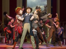 Jason Donovan in Annie Get Your Gun.