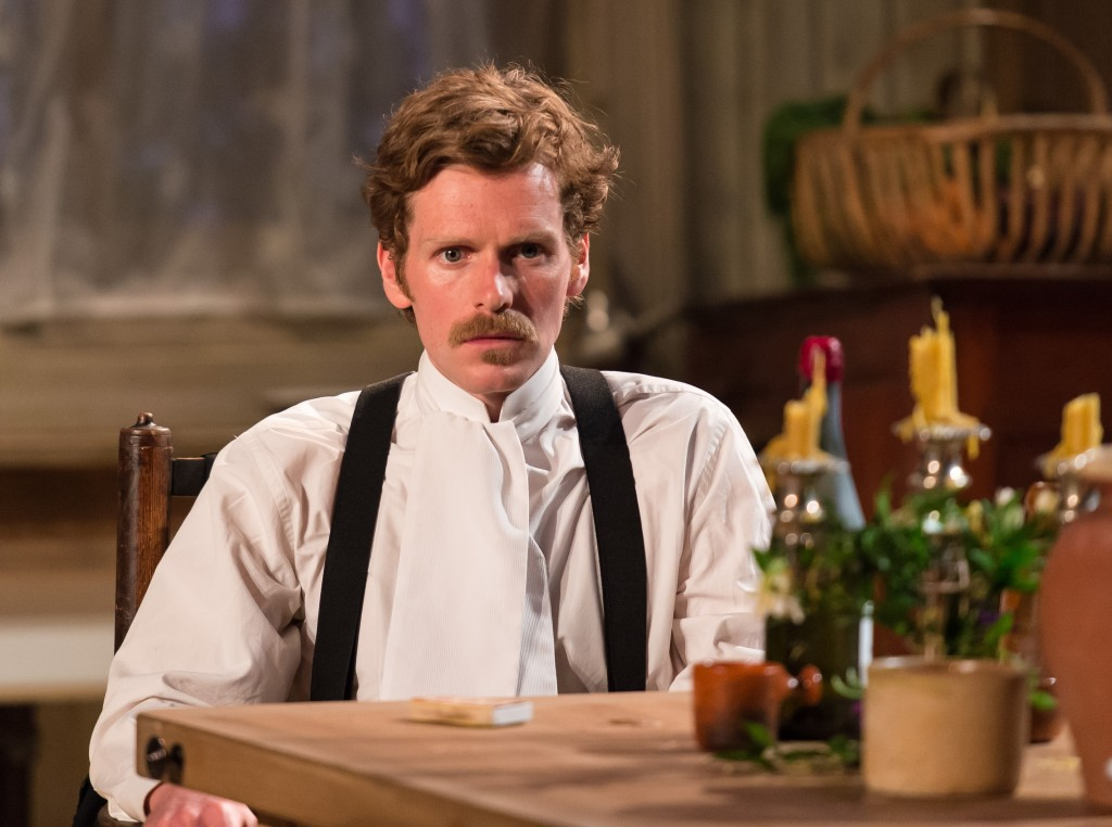 Shaun Evans in Miss Julie. Photo Manuel Harlan.