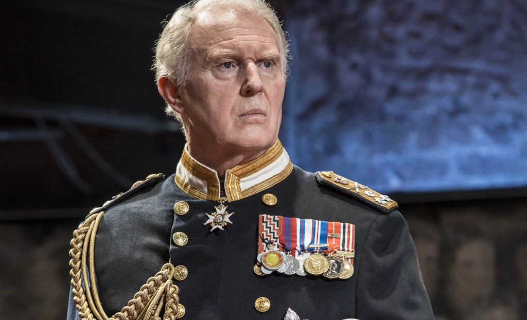 Tim Pigott-Smith in King Charles III. Photo by Johan Persson.