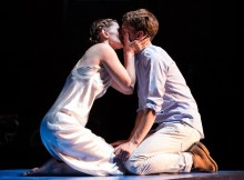 Bryony Tebbutt Dylan Kennedy in Romeo Juliet. Photo by Scott Rylander