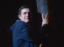 Chris Levens in Ghost Stories. Photo by Alistair Muir.