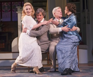 Christine Kavanagh, Nigel Havers, Martin Jarvis and Cherie Lunghi_Importance Of Being Earnest-606_Photo Tristram Kenton