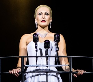 Madalena Alberto as Evita. Photos by Darren Bell.