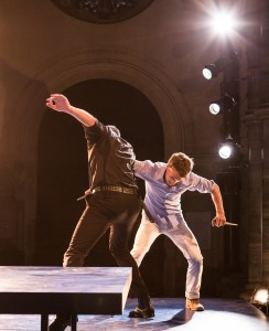Jack Jones and Dylan Kennedy in Romeo  And Juliet