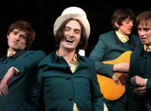 Ned Derrington, George Maguire, John Dagleish and Adam Sopp (l-r) in Sunny Afternoon. Photos by Dominic Clemence