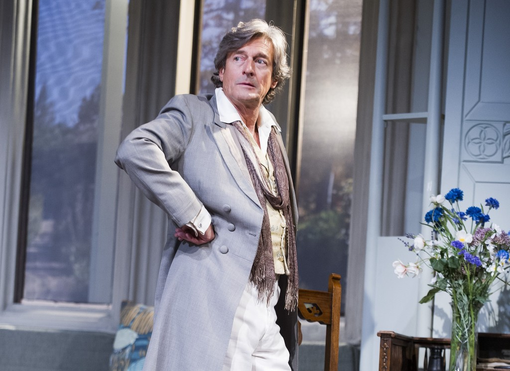 Nigel Havers in The Importance Of Being Earnest. Photos by Tristram Kenton