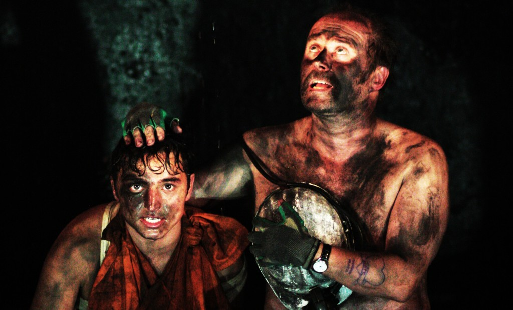 Taylor Jay-Davies and Patrick Brennan in Land Of My Fathers.