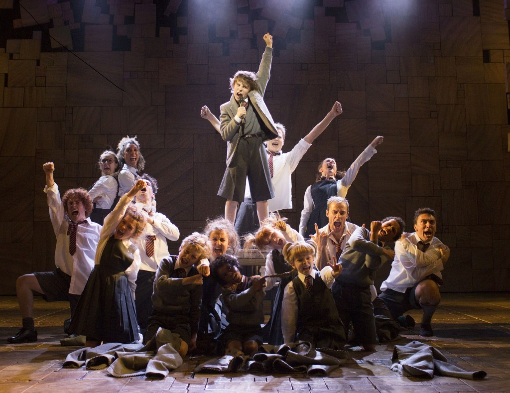 Matilda The Musical. Photos by Helen Maybanks