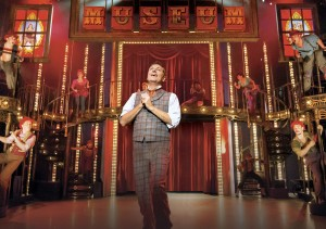2. BARNUM - Brian Conley as 'PT Barnum' and company.  Photo by Johan Persson