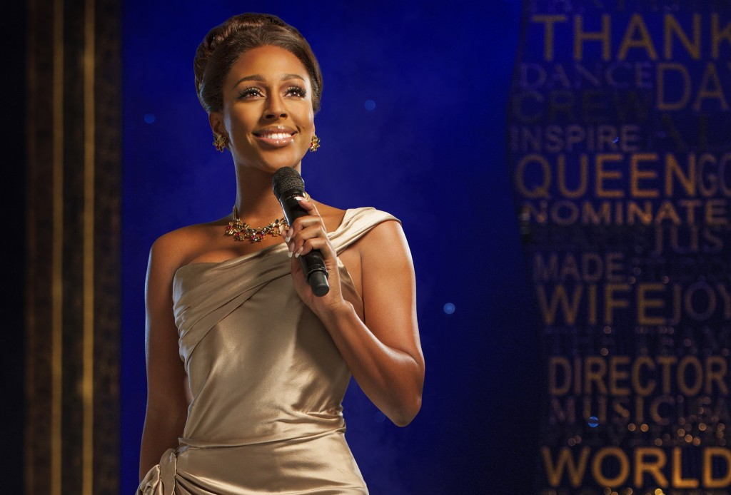 Alexandra Burke in The Bodyguard. Photo by Uli Weber.