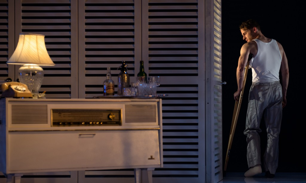 Charles Aitken in Cat On a Hot Tin Roof. Photos by Topher McGrillis.