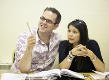 Director Thom Southerland and producer Danielle Tarento