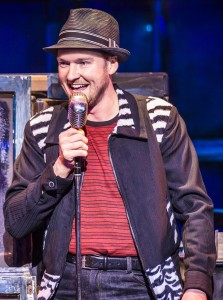 Killian Donnelly as Huey Calhoun in Memphis