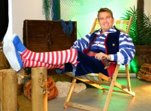 Bradley Walsh stars in Peter Pan at Milton Keynes Theatre.