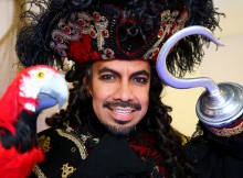 David Bedella in Peter Pan at Milton Keynes Theatre - Christmas 2014