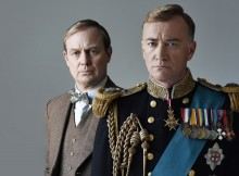 Jason Donovan & Raymond Coulthard in The King's Speech. Photo by Hugh Glendinning.