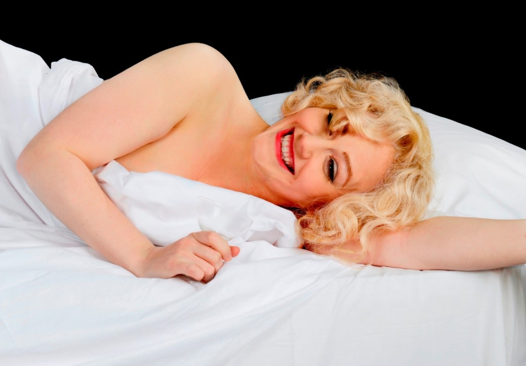 Lizzie Wort in The Unremarkable Death of Marilyn Monroe. Photo Ben Guest.
