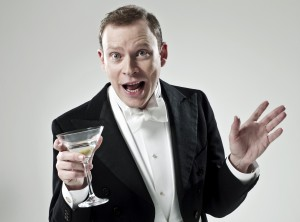 Robert Webb (Bertie Wooster) in Jeeves and Wooster in Perfect Nonsense. Photo by Uli Weber