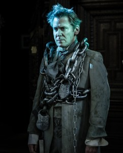 Chris Courtenay as the Ghost of Jacob Marley - Photo by Scott Rylander