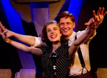 Gerard McCarthy & Sophie Scott in It's A Wonderful Life. Photos Anton Hewins.