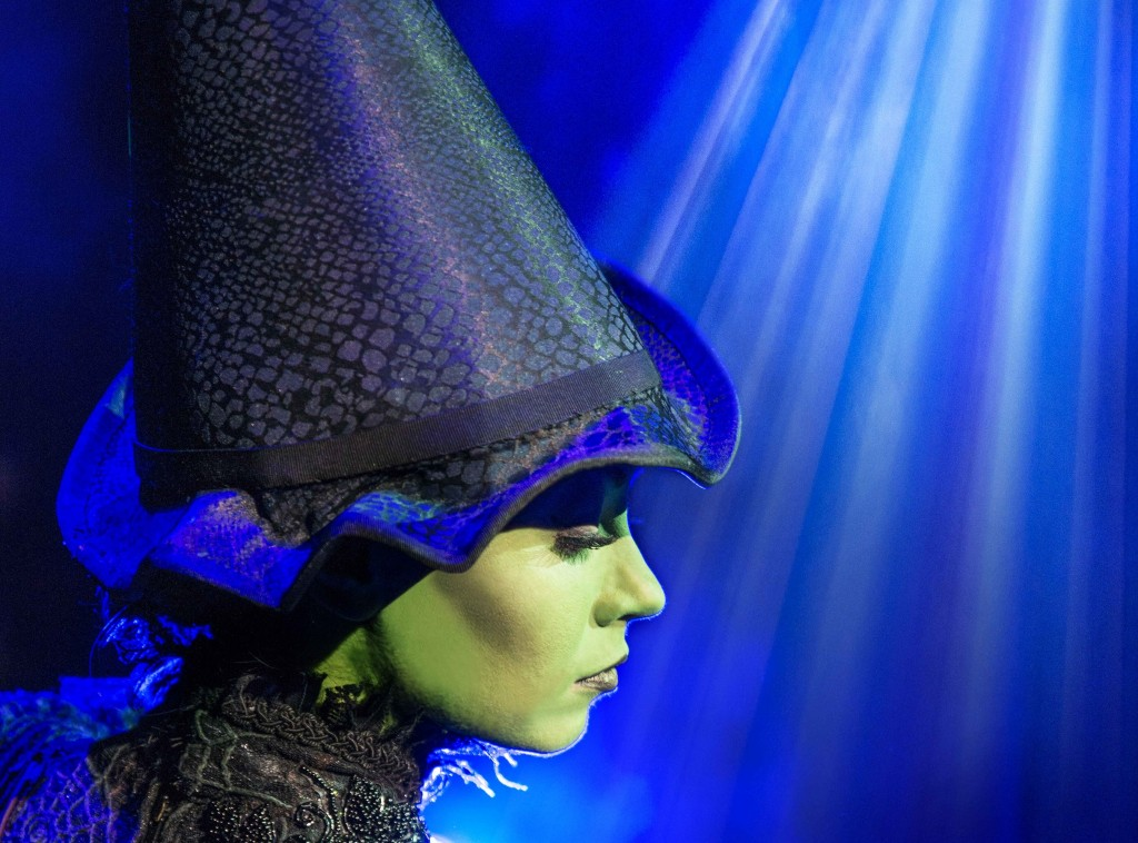 Emma Hatton in Wicked. Photo by Matt Crockett