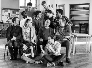 The  History Boys in rehearsal. Image Darren Bell.