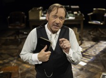 Kevin Spacey in Clarence Darrow. Photo Manuel Harlan