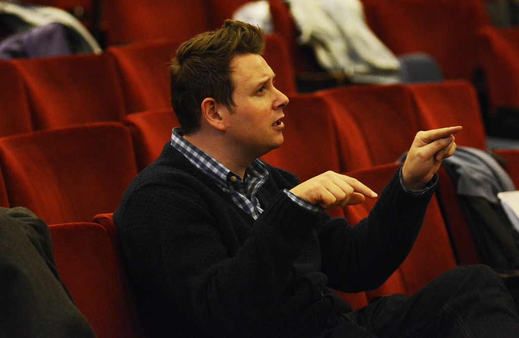 Saturday Night Fever director Ryan McBryde. Images by Nobby Clark.