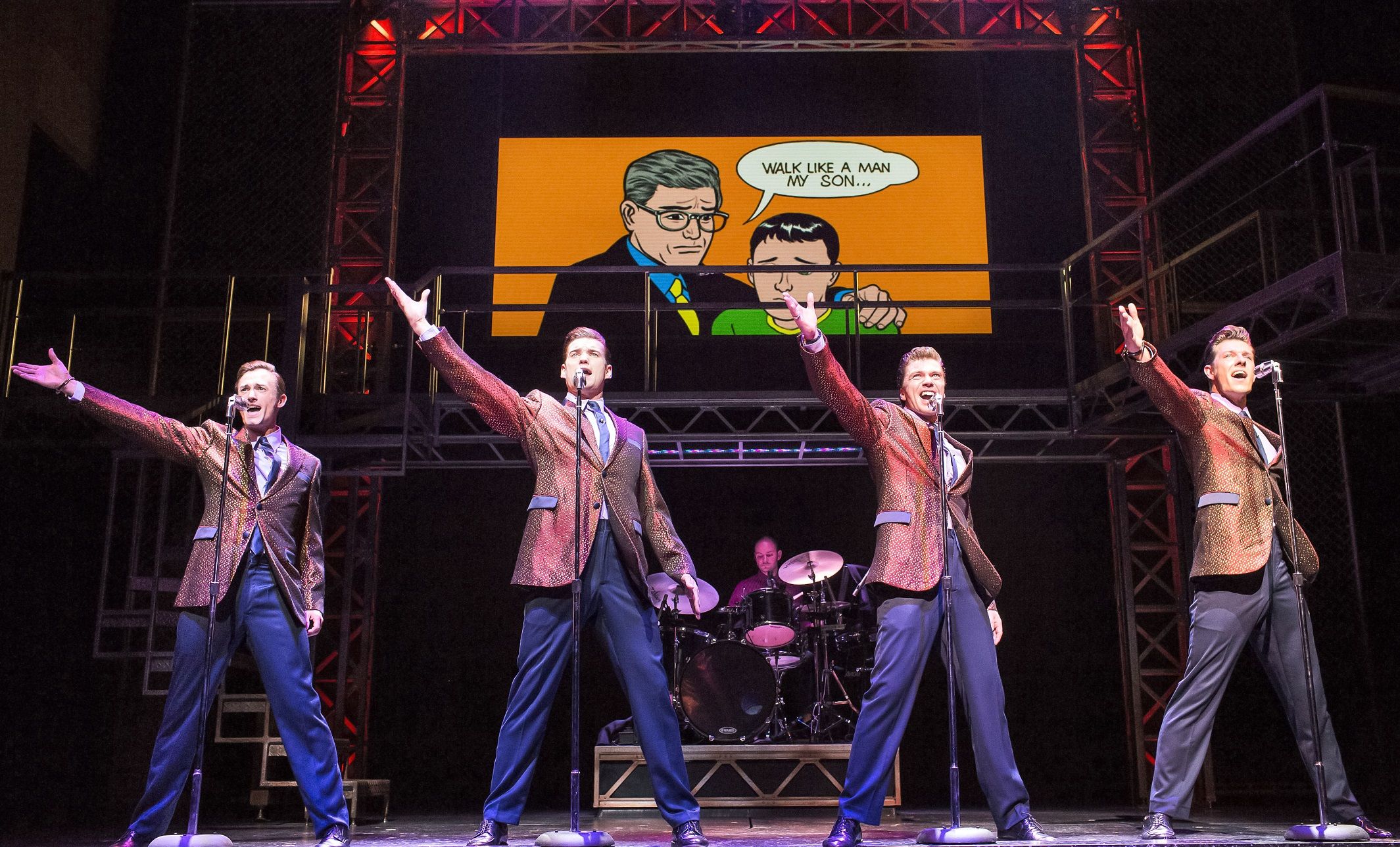 jersey boys milton keynes theatre what 39 s on. Black Bedroom Furniture Sets. Home Design Ideas