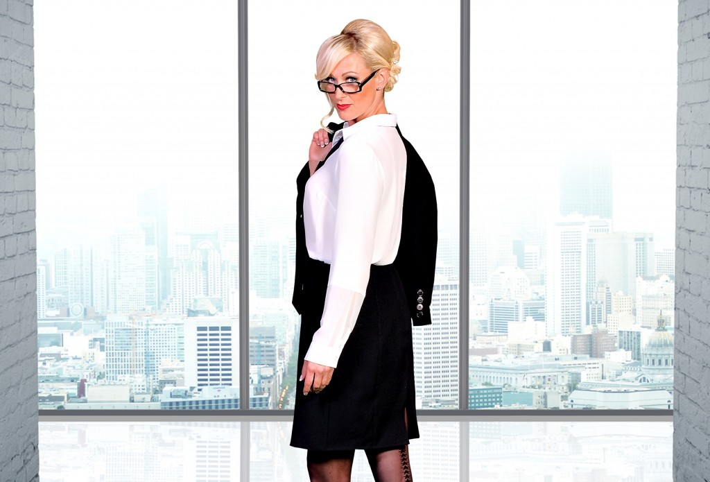 Faye Tozer in 69 Shades of Black