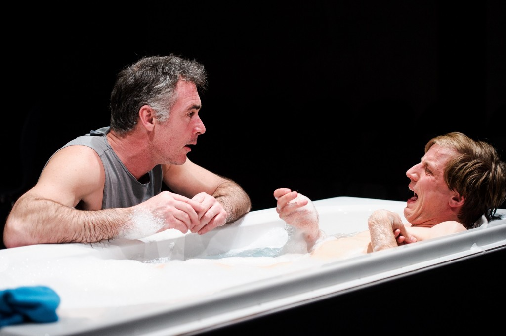 Greg Wise & Oliver Gomm in Kill Me Now. Images Alex Brenner.