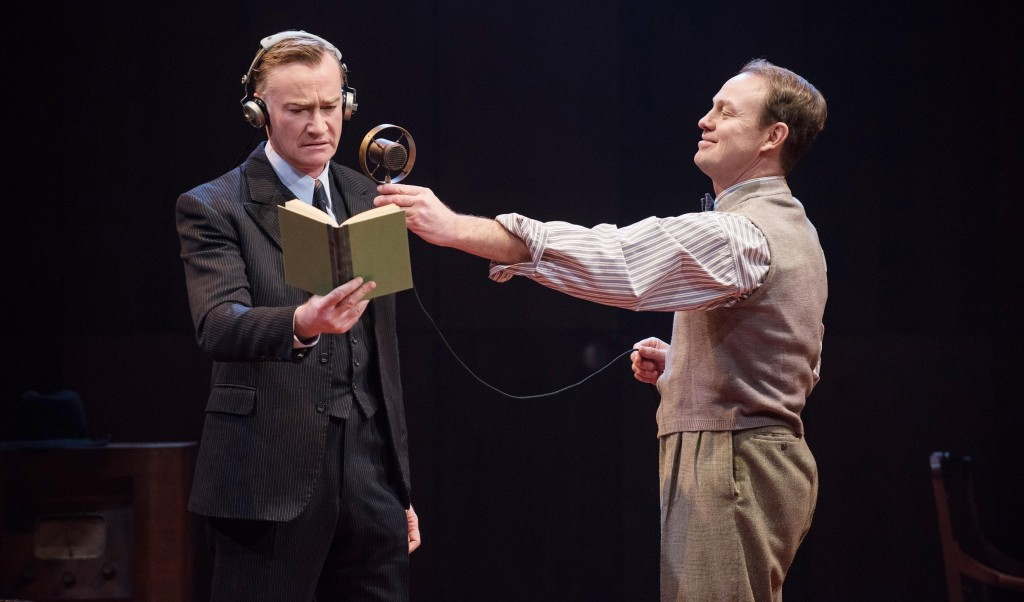 Raymond Coulthard & Jason Donovan in The King's Speech. Photos by  Hugo Glendinning.