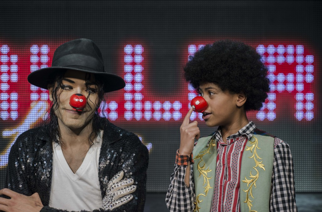 Thriller Live aid Red Nose Day. Photo Irina Chira