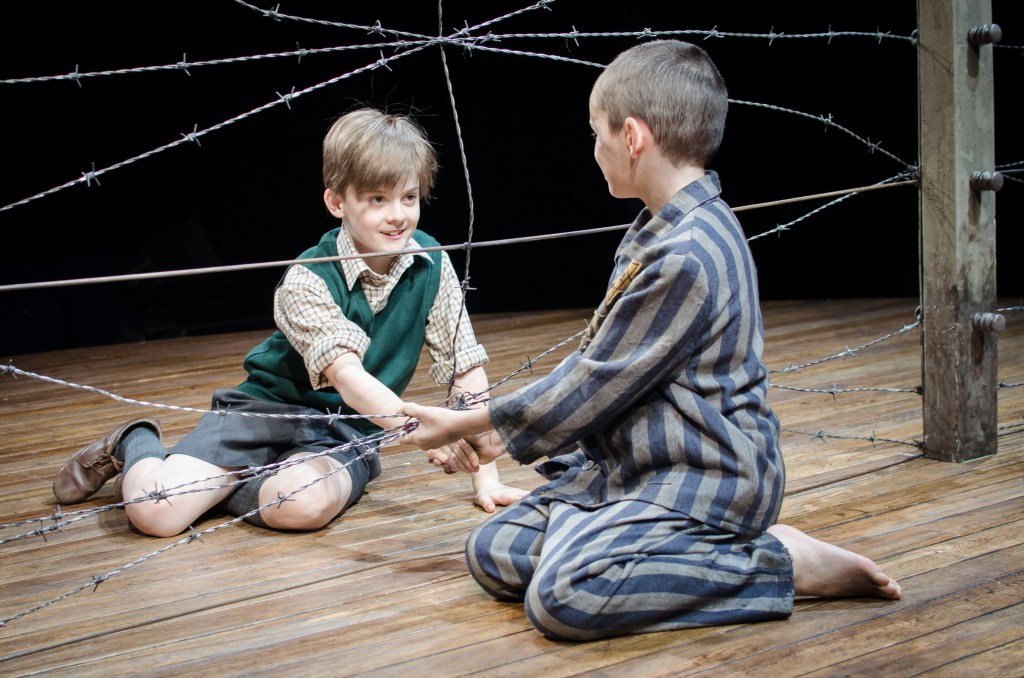 Sam Peterson and Cameron Duncan in The Boy In The Striped Pyjamas
