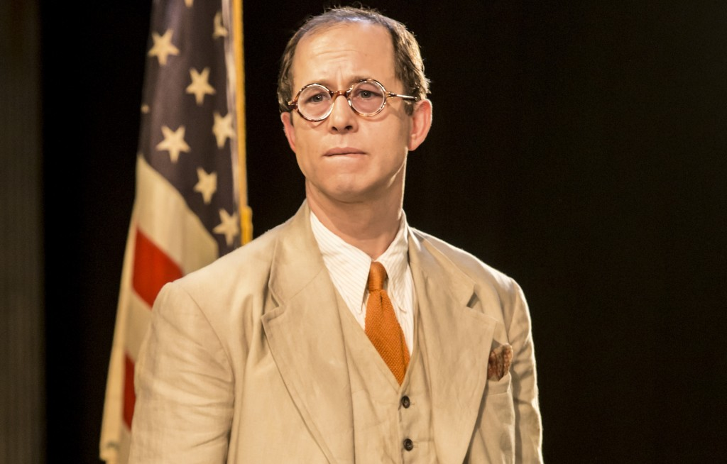 Daniel Betts as Atticus Finch in To Kill A Mockingbird. Photo Johan Persson