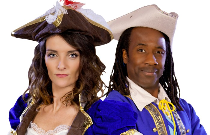 Edele Lynch and Sid Sloane (The Pirates of Treasure Island)