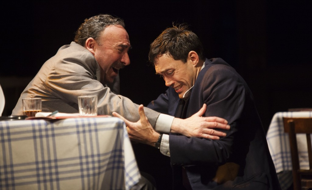 Antony Sher & Alex Hassell in Death Of A Salesman