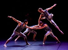 Ballet Boyz in Mesmerics. Image Elliott-Franks.