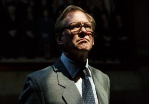 Dead Sheep at Park Theatre.  James Wilby (Geoffrey Howe). Photo credit Darren Bell.  (5)