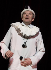 Ian Reddington in Oh What A Lovely War Musical