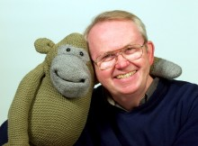 Nigel Plaskitt with Monkey