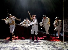 'Oh What A Lovely War' Musical performed at the Theatre Royal Stratford E15, London, UK