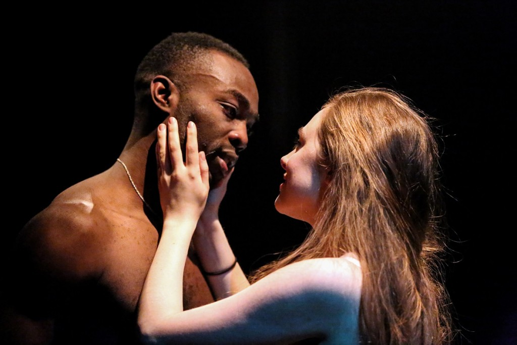 Paapa Essiedu & Daisy Whalley in Romeo and Juliet. Images Craig Fuller.