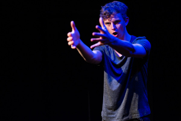Last year's winner, Thomas Pickles, in Dead Party Animals. Image Christopher Tribble.