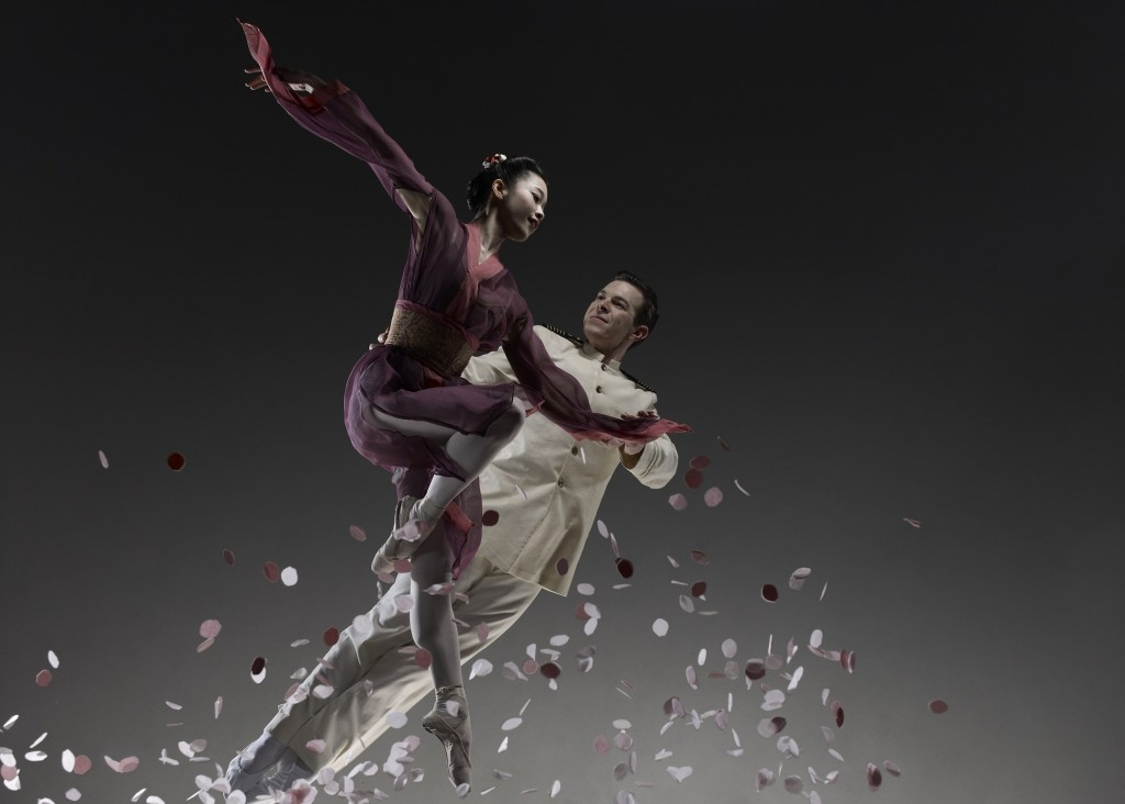 Ayana Kanda and John Hull in Madame Butterfly. Photo Jason Tozer.