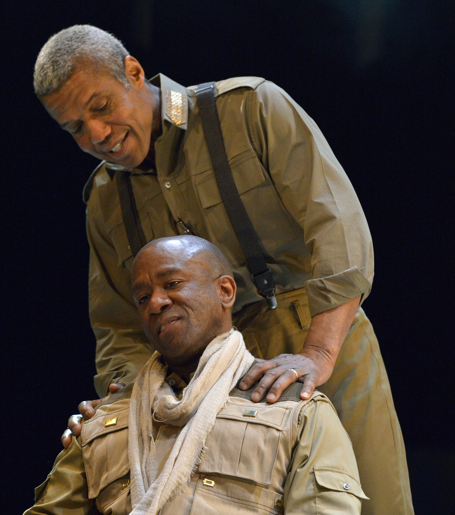 "othello review Othello"" receives a sweeping makeover - in terms of setting, characterizations  and racial overtones — in an intriguing and intimate."