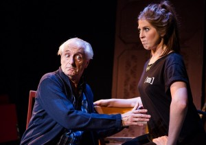 James Woolley & Hatty Preston in stop the play